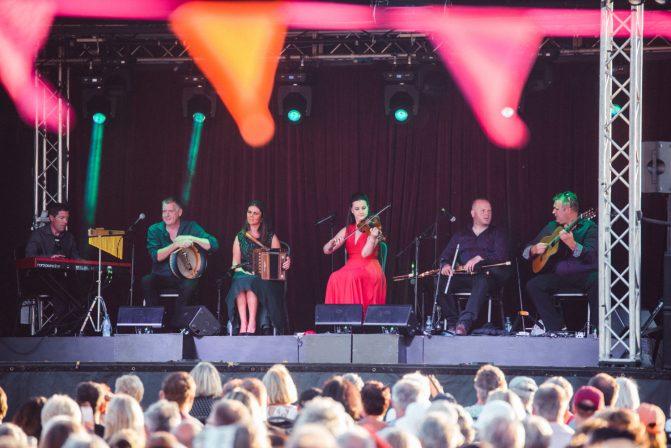 Celtic Steps Open Air Performance
