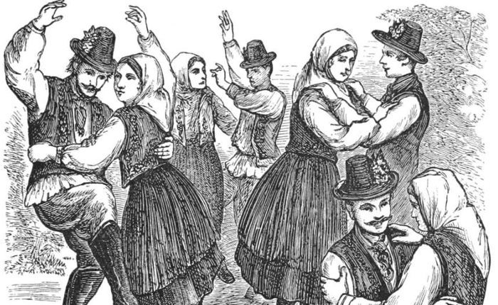 c46ed6ed4413 The Irish people's love of dancing has been well documented throughout the  ages but perhaps John Dunton, an English bookseller and author, put it best  when ...