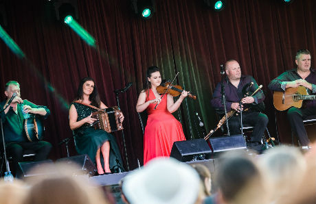 Celtic Steps Musicians at Summer Show