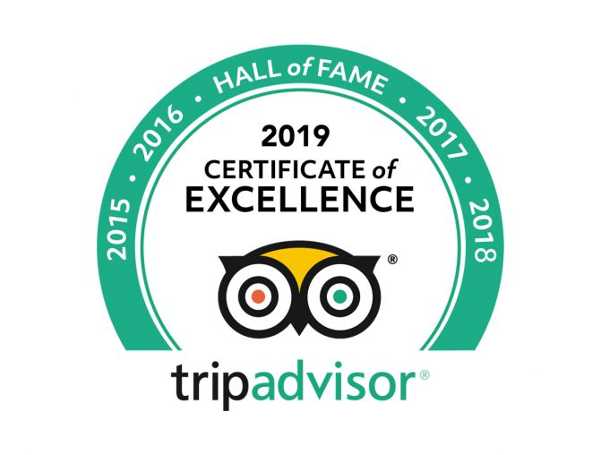 Celtic Steps The Show Wins TripAdvisor Excellence Hall Of Fame Award For 2019 !